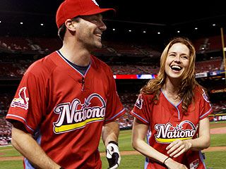 Jon Hamm and Jenna Fischer Hit St. Louis for All-Star Game