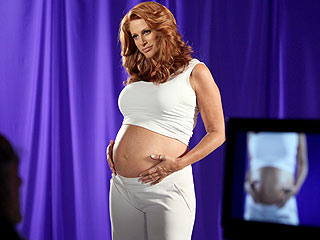 Angie Everhart: I&#39;m Ready To Be a Mom