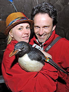 Penguin Love for True Blood Couple