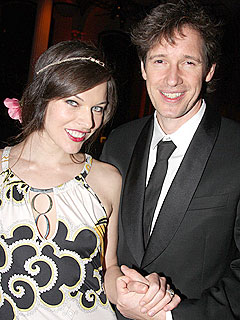Milla Jovovich Exchanges Vows at Sunset