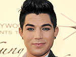 Adam Lambert Rocks Out at Pink's Concert
