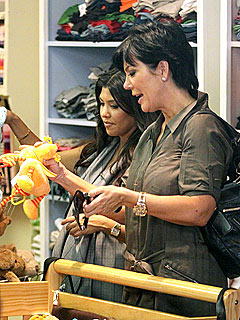 Khloe, Kourtney and Kris Go Shopping for Baby