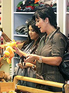 Khloe, Kourtney and Kris Go Shopping for Baby