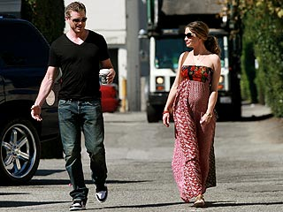 PHOTO: Rebecca Gayheart Shows Off Her Baby Bump