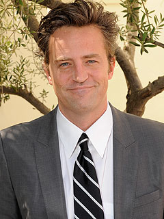 Matthew Perry at 40: Another 'Friend' Going Gray