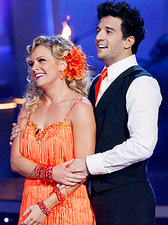 Mark Ballas Jokes Partner Melissa Joan Hart Couldn't Handle Maksim