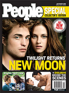 New Moon Special: Robert, Taylor & Kristen on Making a 'Pretty Hot Movie'