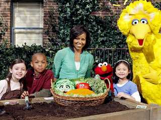 Michelle Obama Helps Sesame Street Mark the Big 4-0