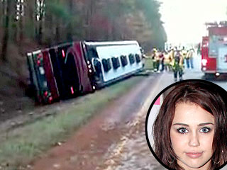 One Dead in Miley Cyrus Tour Bus Crash