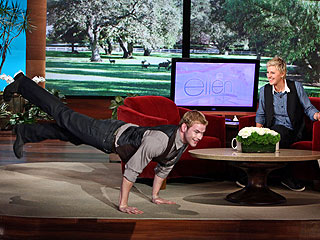 Kellan Lutz Finds Himself in a Naked Pickle