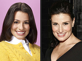 Idina Menzel Spills Glee Secrets … - Sort Of