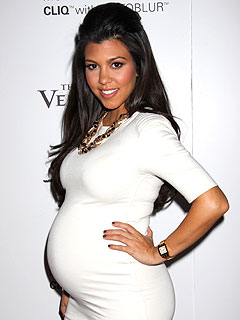 Kourtney Kardashian Due to Give Birth 'Any Minute!'