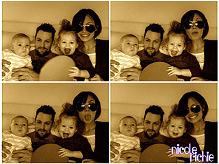 PHOTOS: Nicole Richie's Funny Family Portraits
