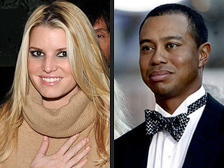 Jessica Simpson Shoots Down Tiger Woods Rumors
