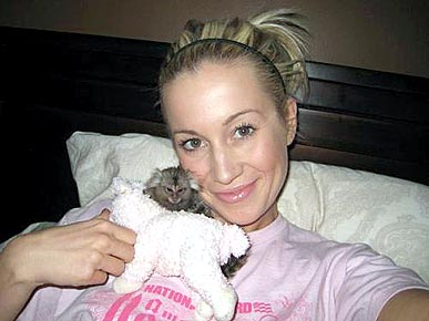 Singer Kellie Pickler Adopts a Monkey
