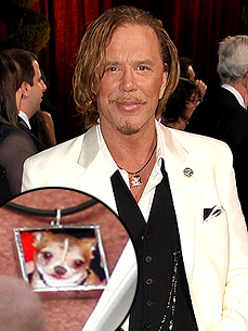 Get Mickey Rourke's Oscar Night Loki Necklace