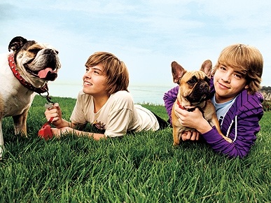 Disney's Famous Dog Owners: Dylan and Cole Sprouse