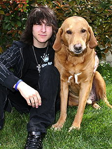 Hannah Montana's Mitchel Musso Has One Lovable 'Beast'