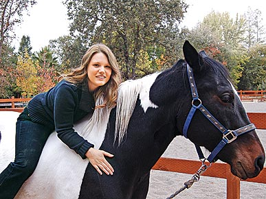 PHOTO: Jaycee Dugard and Family Bond over Horses
