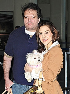 Brittany Murphy's Dog Clara Searching For Her, Says Grief-Stricken Husband