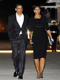 The Obamas&#39; N.Y.C. Date Night