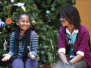 Obama Kids Dreaming of a White (House) Christmas