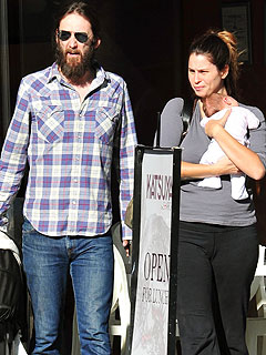 PHOTO: Chris Robinson Steps Out with New Baby