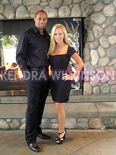 Kendra Wilkinson and Hank Baskett Celebrate First Anniversary