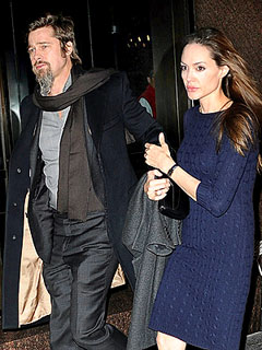 Brad Pitt, Angelina Jolie Were 'Out at Dinner' When Split Rumors Broke