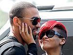 Rihanna's Post-Concert Party (and Snuggle) with Matt Kemp | Matt Kemp, Rihanna