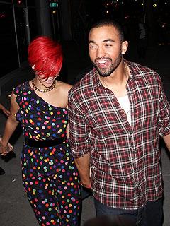 Rihanna's Post-Concert Party (and Snuggle) with Matt Kemp