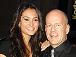 Bruce Willis Parties in Hollywood with His Leading Ladies | Bruce Willis
