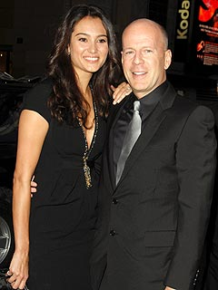 Bruce Willis Parties in Hollywood with His Leading Ladies