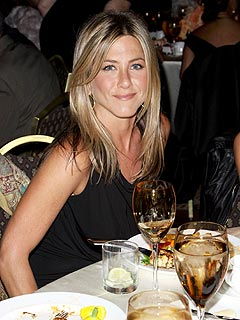 Jennifer Aniston Celebrates Birthday with Adam Sandler, Hugh Jackman