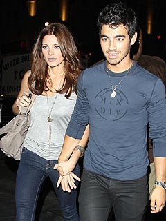Ashley Greene and Joe Jonas Have Hibachi Date Night