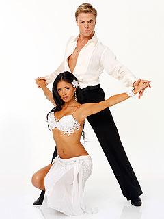 Nicole Scherzinger & Derek Hough Bust a Move in Hollywood