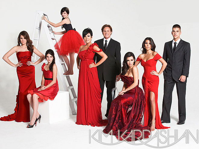 The Kardashians' Very Merry Christmas Cards