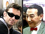 Train Spotting: Stars on the Subway! | Hugh Jackman, Paul Reubens