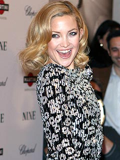 Kate Hudson's Holiday Bash: High Spirits, But No A-Rod