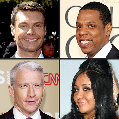 Will You Ring In 2010 with Jay-Z, Anderson Cooper or Snooki?