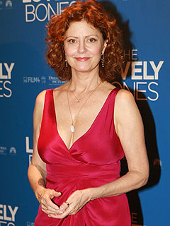 Susan Sarandon on Crutches: From Break Dancing?
