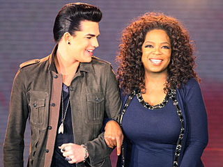 FIRST LOOK: Adam Lambert Sits Down with Oprah