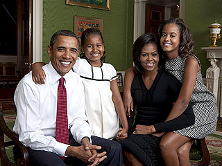 The President & First Lady Reveal Family's TV Habits