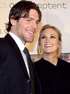 Carrie Underwood and Mike Fisher's Date Night