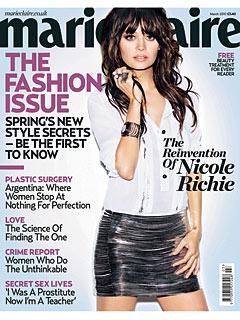Nicole Richie Denies Ever Having an Eating Disorder