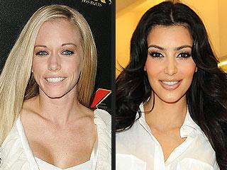 Kim Kardashian & Kendra Wilkinson Get into Pre-Super Bowl Spat