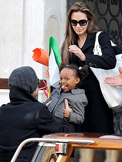 The Jolie-Pitts Enjoy Sweet Times in Venice