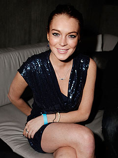 Lindsay Lohan Gets Good Grades in Her DUI Class