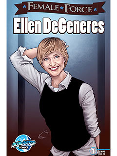 Ellen DeGeneres Comic Book to Benefit Humane Society