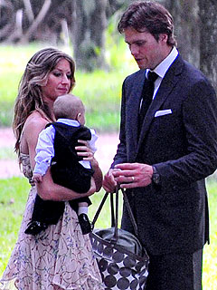 Gisele Bündchen and Tom Brady Take Baby Benjamin to Her Sister's Wedding